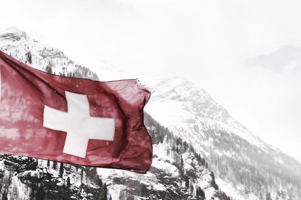 Grenzgaenger-Schweiz-Flagge